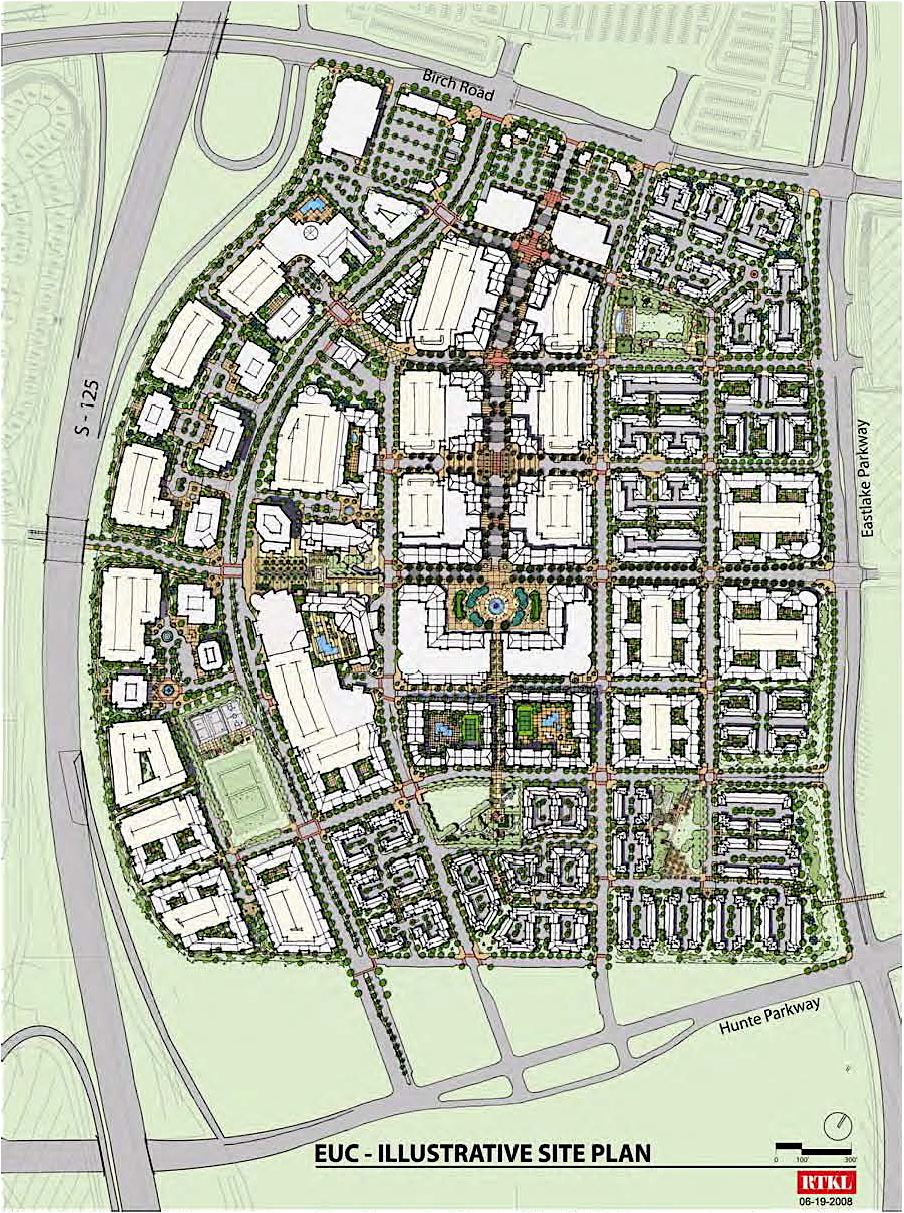 Ready made downtown planned for otay ranch cp dr for Site plans online